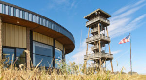 The Best Place To Enjoy A South Dakota Fall Is From Atop This 80-Foot Wooden Tower