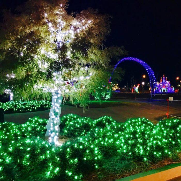 The Biggest Light Show In Mississippi: Gulfport Harbor Lights