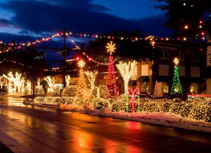 Forest City North Carolina Celebrates The Holidays With