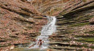 The Tennessee Trail That Leads To A Stairway Waterfall Is Heaven On Earth