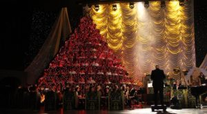 Northern California's Singing Christmas Tree Is Truly A Sight To See