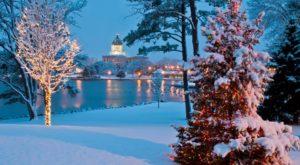 This Christmas Tree Trail In South Dakota Is Like Walking In A Winter Wonderland