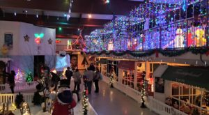 The Magical Christmas Village Near Detroit Where Everyone Is A Kid Again