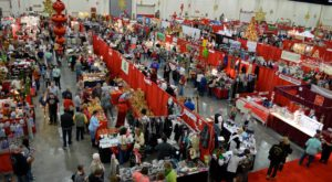 This Enormous Victorian Holiday Market In South Carolina Will Put You In The Holiday Spirit
