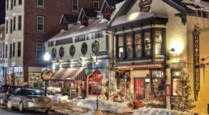 Christmas In These 9 Maine Towns Looks Like Something From A Hallmark Movie