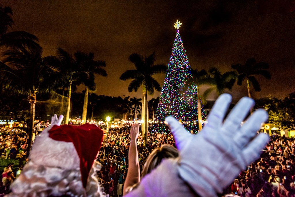 This Festive 100 Foot Christmas Tree In Florida Comes