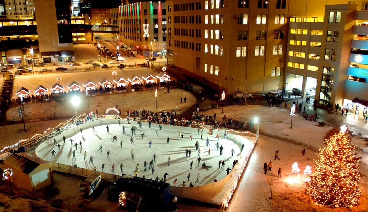 The Largest Ice Skaitng Rink In Ohio Lock 3 Akron