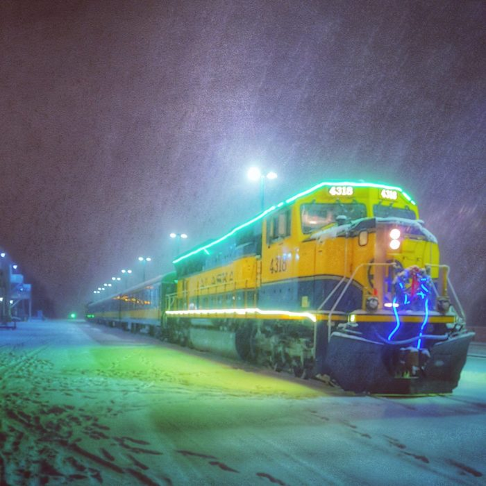 The Santa Train In Alaska That's A Christmas Dream Come True