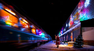 This Christmas Train In Massachusetts Will Take You To A Magical Holiday Town