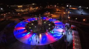 This Glowing Ice Rink In A Northern California Town Is Downright Enchanting