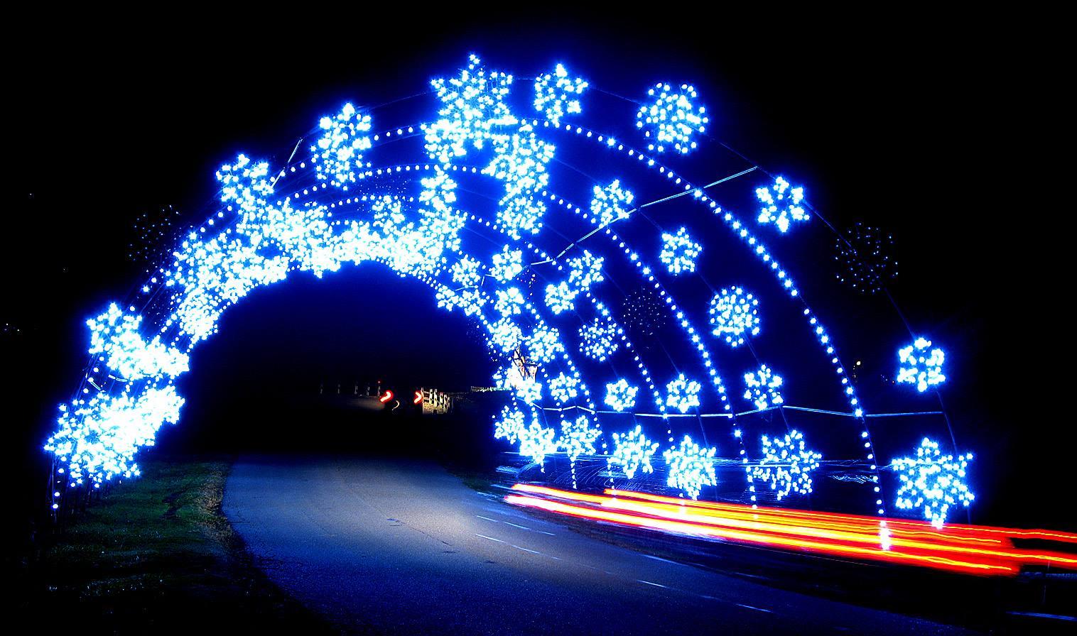 Winter Festival Of Lights At Oglebay Resort Is The Largest Drive ...