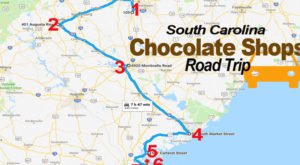 The Sweetest Road Trip in South Carolina Takes You To 7 Old School Chocolate Shops