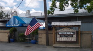 There's A Delicious Steakhouse Hiding Inside This Old Louisiana Warehouse That's Begging For A Visit
