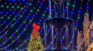 The One Louisiana Town That Transforms Into A Christmas Wonderland Each Year