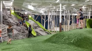 This Indoor Playground In Maryland Is A One-Of-A-Kind Woodland Paradise
