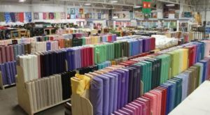 This Massive Fabric Warehouse Near Cleveland Is A Dream Come True