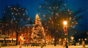 At Christmastime, This Massachusetts Town Has The Most Enchanting Main Street In The Country