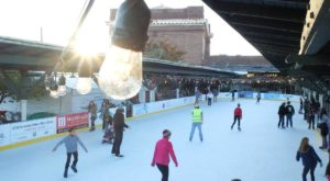 Glide Across The Largest Ice Skating Rink In Tennessee For An Unforgettable Outdoor Adventure