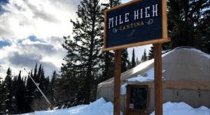 This Idaho Yurt Serves Tacos On Top Of The Mountain And It's Amazing