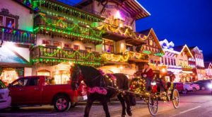 The Christmas Village In Washington That Becomes Even More Magical Year After Year