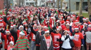 This Enormous Gathering Of Santas In Cleveland Is Truly A Sight To See