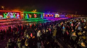 This Enchanting Holiday Train Is Chugging Back Through North Dakota And You Won't Want To Miss It