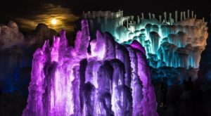 The Magical Winter Attraction In Colorado That Features 25 Million Pounds Of Ice