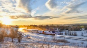 Watch The Colorado Countryside Whirl By On This Unforgettable Winter Train