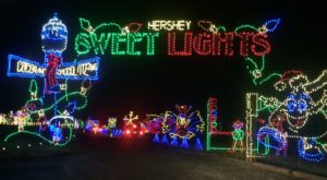 You Will Love This Dreamy Ride Through The Largest Drive-Thru Light Show In Pennsylvania