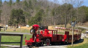 The Charming Train Park In West Virginia You'll Want To Spend More Time In