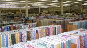 This Massive Fabric Warehouse In Arkansas Is A Dream Come True