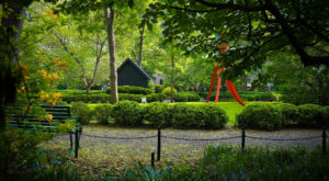 The Hidden Park In New York That's Only Accessible By A Secret Key