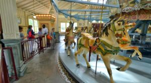 The Magical Mississippi Carousel That's A Must-Visit For All Ages