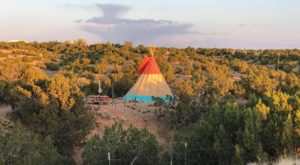 You'll Never Forget Your Stay At This Enchanting Tipi Hiding In The New Mexico Desert