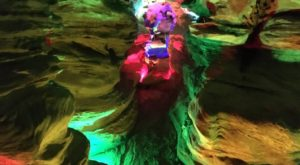 Venture Nearly 150-Feet Deep Below The Earth At These One Of A Kind Caverns Near Pittsburgh