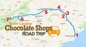 The Sweetest Road Trip in North Carolina Takes You To 7 Old School Chocolate Shops