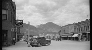 What Every Small Town In Montana Had In The 1930s. It Was A Simpler Time.