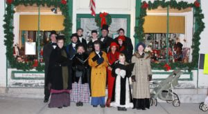 Your Family Will Fall In Love With This Charming Wisconsin Victorian Christmas Celebration