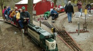 The Miniature Train Ride Attraction Near Cincinnati Everyone In Your Family Will Love