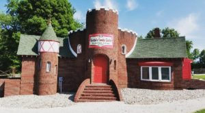 This Fairytale Candy Castle In Indiana Will Transport You To The North Pole