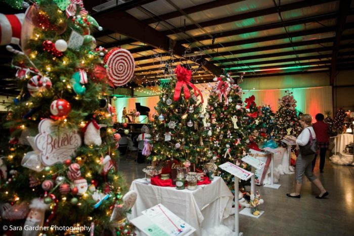 Baby Fold's Festival Of Trees In Illinois Is A Christmas