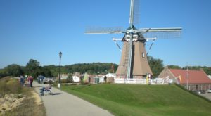 This 100-Foot Tall Windmill In A Historic Illinois Town Is Fascinating And You'll Want To Visit
