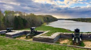 Take A Trip Back In Time At This Historic Fort Just Outside Of Nashville