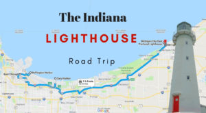 The Lighthouse Road Trip On The Indiana Coast That's Dreamily Beautiful