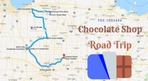 The Sweetest Road Trip in Indiana Takes You To 8 Old School Chocolate Shops