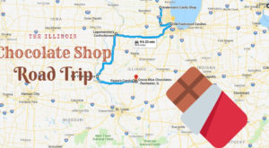 The Sweetest Road Trip in Illinois Takes You To 7 Old School Chocolate Shops
