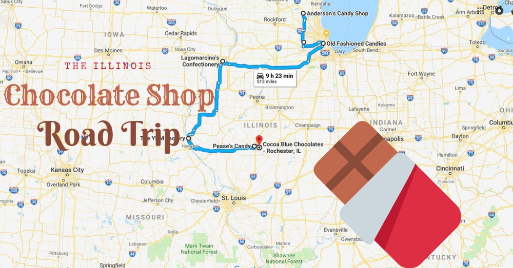 7 Vintage Chocolate Shops In Illinois For The Best Sweets on il state jobs, il state library, indiana road map, indiana rd map, il state road 100, iowa state map, il united states map, i'll state map, il hwy map, central illinois road map, missouri and illinois road map, il state university, illinois territory map, springfield il area map, i'll road map, illinois state highway map, il county map with roads,