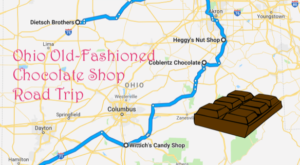 The Sweetest Road Trip In Ohio Takes You To 7 Old School Chocolate Shops