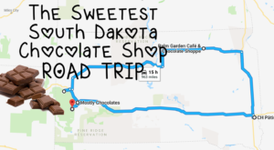 The Sweetest Road Trip in South Dakota Takes You To 5 Old School Chocolate Shops