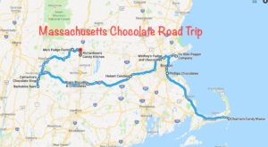 The Sweetest Road Trip in Massachusetts Takes You To 10 Old School Chocolate Shops